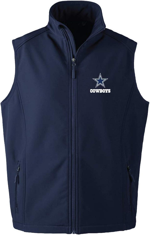 NFL Archer Vest, Mens, 8019-004-COW-XL, Navy, X-Large