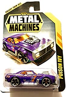 Metal Machines Zuru Poison Ivy Purple Die Cast Toy Car Vehicle, Mix