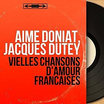 Vielles chansons d'amour françaises (feat. Mildred Clary) [Mono version]