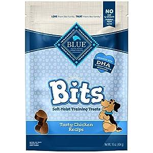 Blue Buffalo BLUE Bits Natural Soft-Moist Training Dog Treats Chicken Recipe 16-oz bag