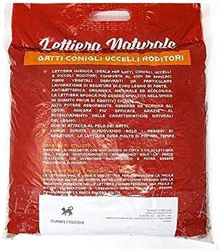 Purrfetto Litière pour Pipi Chat, Lapin Nain, Oiseaux et rongeurs – 100% biodégradable dans Les Toilettes – Élimine Les odeurs (20 kg - 4 Sacs)