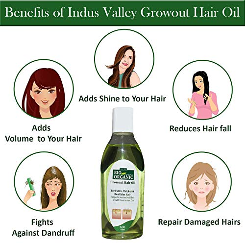 Indus Valley Bio Organic Hair Oil 100ml