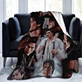 The Va-Mpire Diaries D-Amon Salvato-Re Blanket Ultra-Soft Micro Fleece Blankets Air Conditioning Blanket Warm Throws for All Season Bedding Bed Sofa Home Decorations 50x40 Inch for Kid