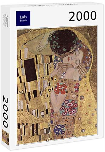 Lais Puzzle Gustav Klimt - El Beso, Detalle 2000 Piezas