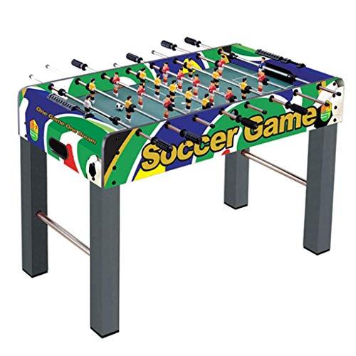 Tischfußball-Maschine 6 Erwachsene Billard Maschine Doppelkinderspiel Spielzeug 6-14 Jahre alt Lernspielzeug Multiplayer Interactive Football-Maschine Judith ( Color : Green , Size : 121*61*79cm )