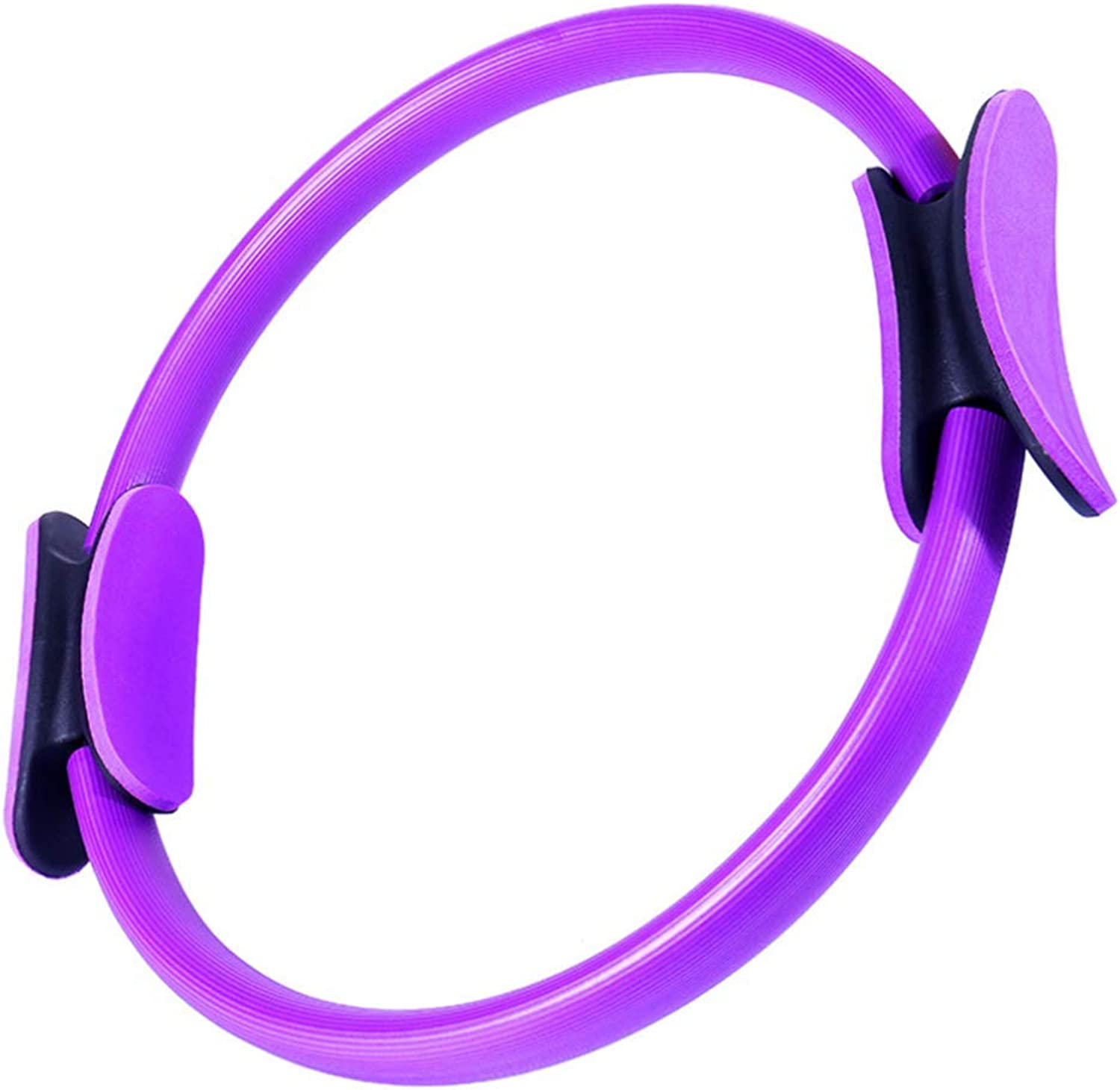 Pilates Ring Fitness Circle With38 cm Diameter Magic Training, Full Body Toning, Power Resistance for Yoga Arm, Leg Gym Home Office