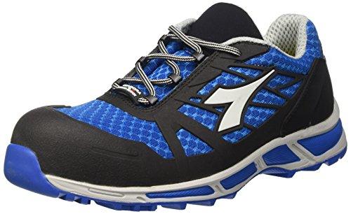 Diadora D-Trail Low S1P HRO werkschoenen, heren, SRA, blauw (lichtblauw/zwart), 39 EU (6 UK)