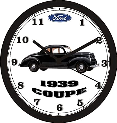 1930 FORD COUPE WALL CLOCK-FREE USA SHIP-Other colors available!