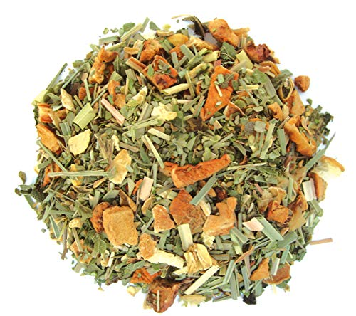 Olijfblad gember lemon, losse thee, biologisch, 100 gram