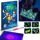 KKmoon A3 3D leuchtende Zeichenbrett Pad schreiben Malbrett zeichnen mit Licht Spaß und Entwicklung...