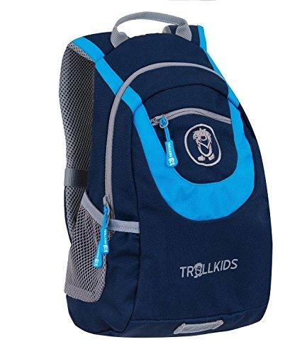Trollkids Kinder Rucksack S, Marineblau/Orange, Größe 7L