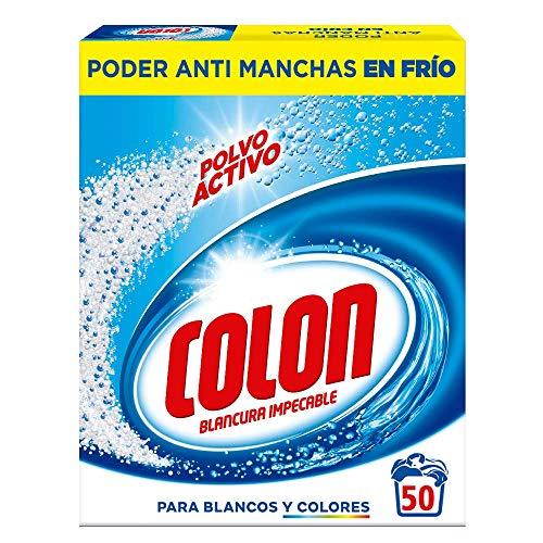 Colon Detergente de Ropa para Lavadora Profesional en Polvo – 166 Lavados