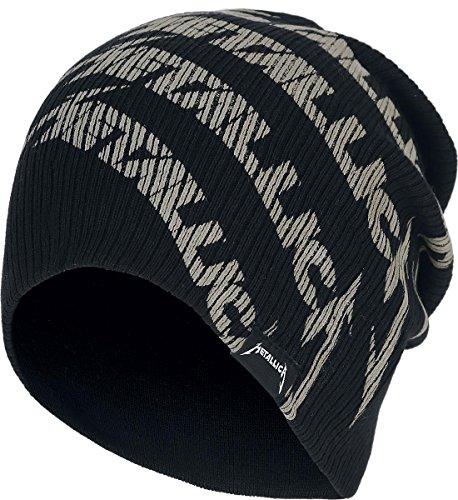 Metallica Logo Bonnet noir