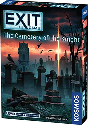 Thames & Kosmos| EXIT - The Game | The Cemetery Of The Knight | Unique Escape Room Game, 1-4 Players | Ages 10+ | 692876