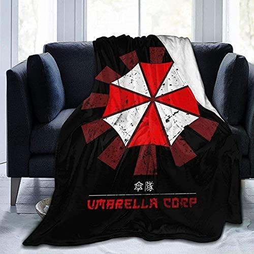 AZCCDM Resident Evil - Manta muy suave y mullida, hipoalergénica, para prevenir alergias, manta de forro polar, adecuada para sofá o cama (A6,100 x 130 cm)