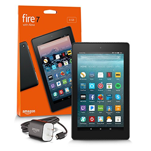 "Fire 7 Tablet  (7"" display, 16 GB) - Black - (Previous Generation - 7th)"