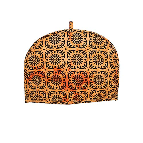 Orange Tea Cosy Cotton kitchen accessories Orange Color royal Tea Cozy Cover Red kettle Tea Pot cover