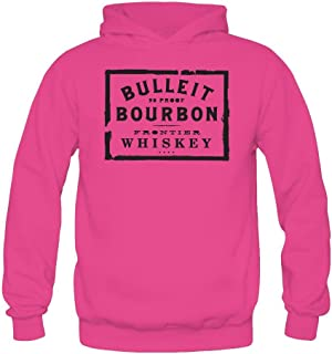Niceda Women`s Bulleit Bourbon Long Sleeve Sweatshirts Hoodie