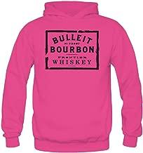 Niceda Women's Bulleit Bourbon Long Sleeve Sweatshirts Hoodie