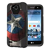 Capsule Case Compatible with LG Fiesta 2 (L163BL), LG X Power 2 (M320), LG X...