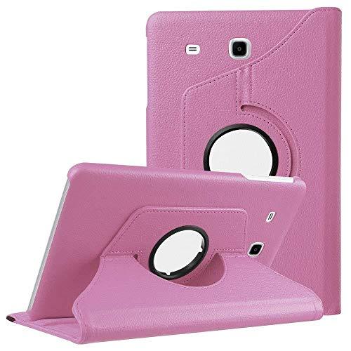 Funda de rotación para Samsung Galaxy Tab 7.0 de 7.0 pulgadas 2016 SM-T280 SM-T285 Tablet Case Rosa