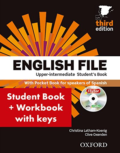 English File 3rd Edition Upper-IntermediateStudent's Book + Workbook with Key Pack, CEFR: B2...