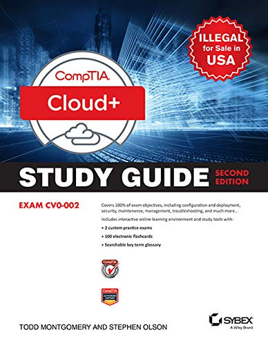 CompTIA Cloud+ Study Guide: Exam CV0 - 002