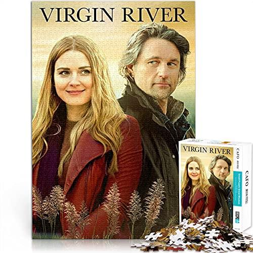 Puzzle 1000 Piezas de póster de Virgin River Puzzle de Papel dificultad y desafío 26x38cm Adecuado para Todas Las Edades para Jugar desafío Cerebral