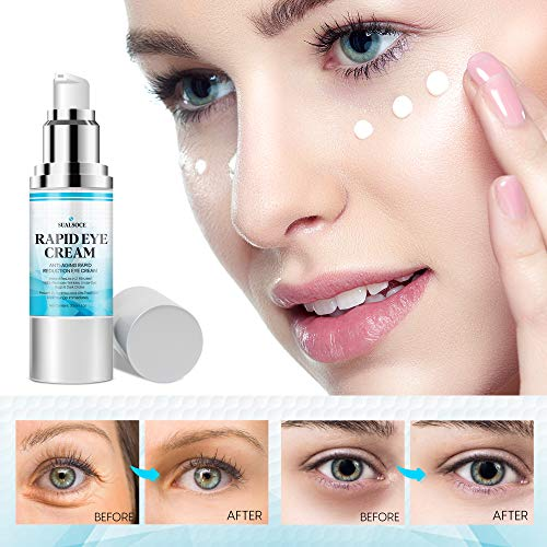 51X+0sQ6qzL. SL500  - Anti-Aging Cream, Rapid Eye Cream - Anti Wrinkle Treatment, Rapid Reduction Eye Cream, Instantly Reduces Puffiness, Eye Bags in 2 Minutes! -30 ml