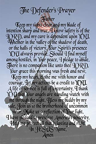 The Defender's Prayer - Marines at Iwo Jima: 6x9 Blank Lined 120 Page Journal for Marines, USMC Gifts, Marine Corp Boot Camp Gift