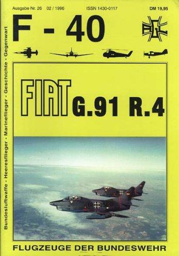 F-40 Flugzeuge der Bundeswehr Nr. 26 - FIAT G.91 R.4
