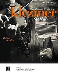 Klezmer duets (10 duos arrangés par Deborah Strauss et Alan Bern) --- Violon et Accordéon