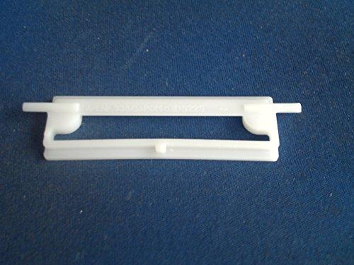 Einsatz für Briefkastenklappe/Klappenhalter mit Zapfen für Klauke Briefkastenklappen,Kunststoff,Weiß