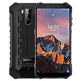 "Ulefone Armor X5 Pro【4GB RAM 64GB ROM】, Android 10 4G Móvil Antigolpes, MTK6762 Octa-Core, 5.5 ""IP68 Impermeable Moviles Todoterreno, Dual SIM, 5000mAh Batería, Desbloqueo Facial NFC GPS Rojo"