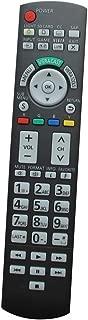 HCDZ Replacement Remote Control for Panasonic TH-42PH10UK TH-50PH9 TH-42PHW5 TH-42PWD4VUY Viera LCD LED Plasma HDTV TV