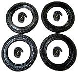 4x Reifen + 4x CBK-MS Schlauch 12' - 12 1/2 x 2 1/4 = 62-203 Kinderwagen Roller Dreirad
