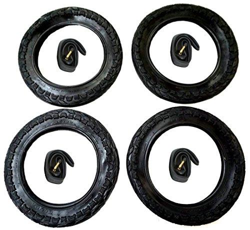 4x Reifen + 4x CBK-MS Schlauch 12