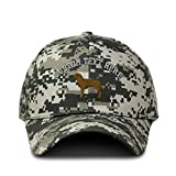 Custom Camo Baseball Cap Chesapeake Embroidery Cotton Hunting Dad Hats for Men & Women Strap Closure Pixel Digital Camo Personalized Text Here