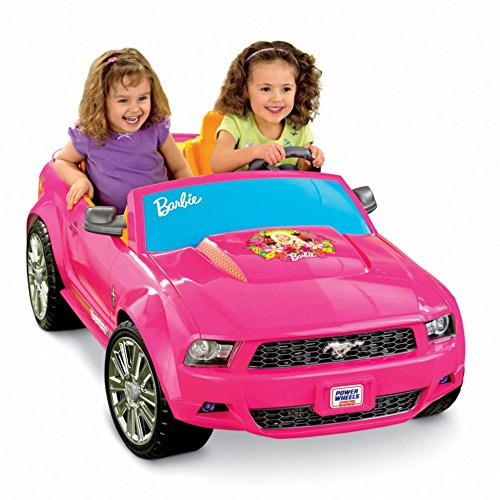 Power Wheels Ford Mustang, Barbie