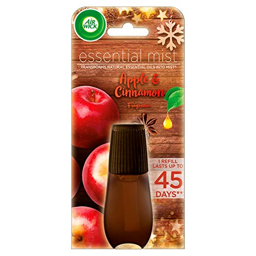 Air Wick Essential Mist Diffuser Refill with Essential Oils, Apple &...