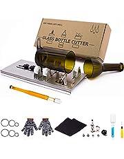Glasflaskskärare, uppgraderad glasskärare för flaskor, gör-det-själv-maskin för att skära öl, sprit, whisky, alkohol, champagne, vinflaskskärare för rund flaska av Camdios