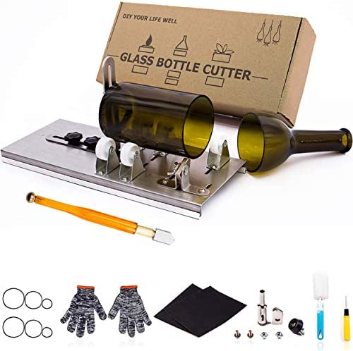 Glass Bottle Cutter Upgraded Bottle Cutting Tool Kit DIY Machine for Cutting Wine Beer Liquor product image