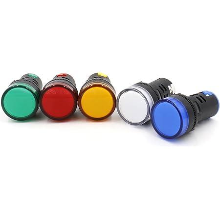 Pilot Panel LED 220V AC Indikator Signal Warnung Leuchte Lampe Licht LY