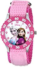 Disney Kids' W000970 Frozen Snow Queen Watch with Pink Nylon Band