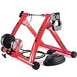 Deuter - Unidad magnética para entrenamiento con bicicleta en interiores, portátil, cierre de liberación rápida y sistema elevador con para rueda delantera