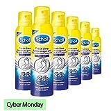 Scholl Fresh Step Antitranspirant Vorteilspack Schuhspray Schuhdeo 900ml