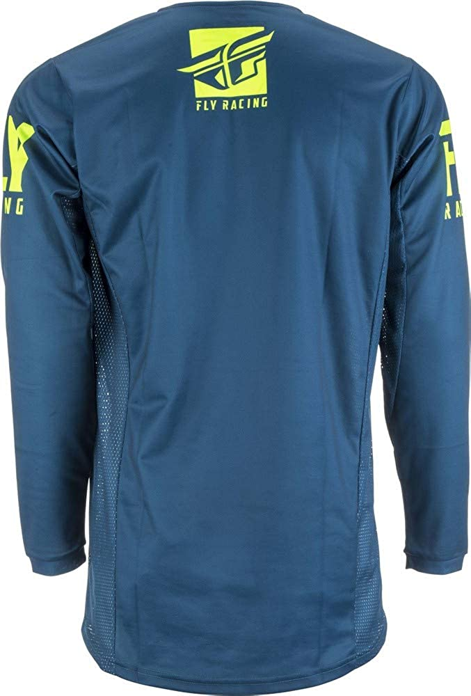 Fly Racing Jersey Kinetic Shield Port Blue Bekleidung