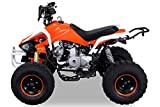 Kinder Quad 125 ccm orange/weiß Speedy - 2