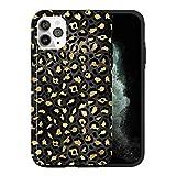 Coque de protection pour iPhone 12 Mini, noir Ang Gold KU054_7 pour iPhone 12 Mini - Design tendance...