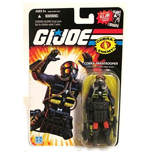 Para-Viper Cobra Paratrooper GI Joe 25th Anniversary Action Figure
